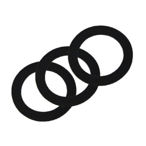 Fuji Gaskets for Gravity Cup (Black) 3 Pack
