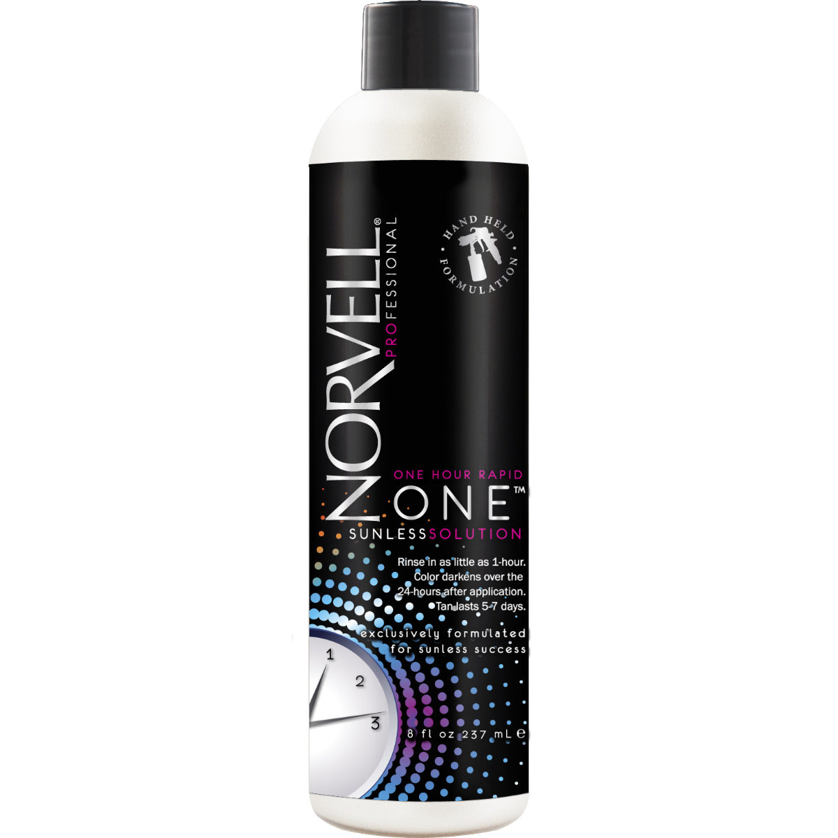 Norvell One Rapid Sunless Handheld Solution 8 Oz