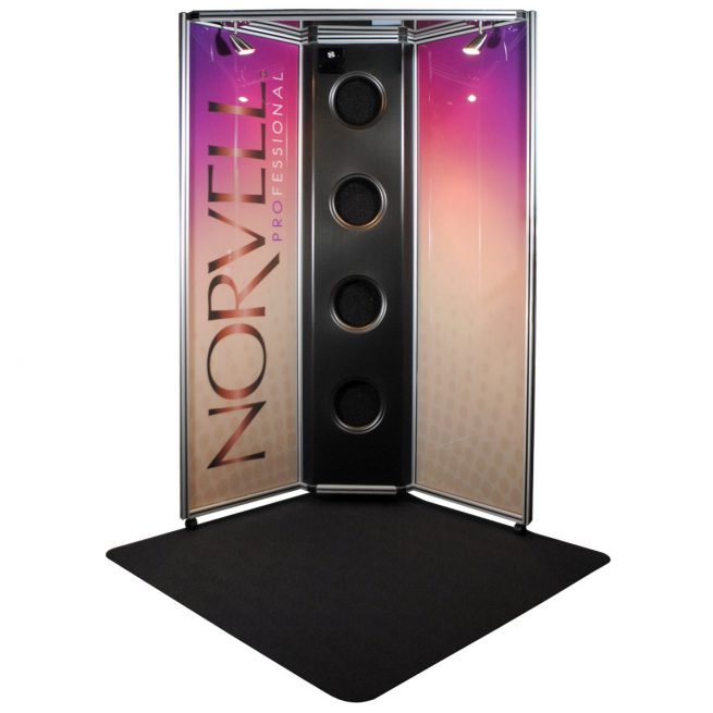 Norvell Overspray Booth with NEW Full Color Panels