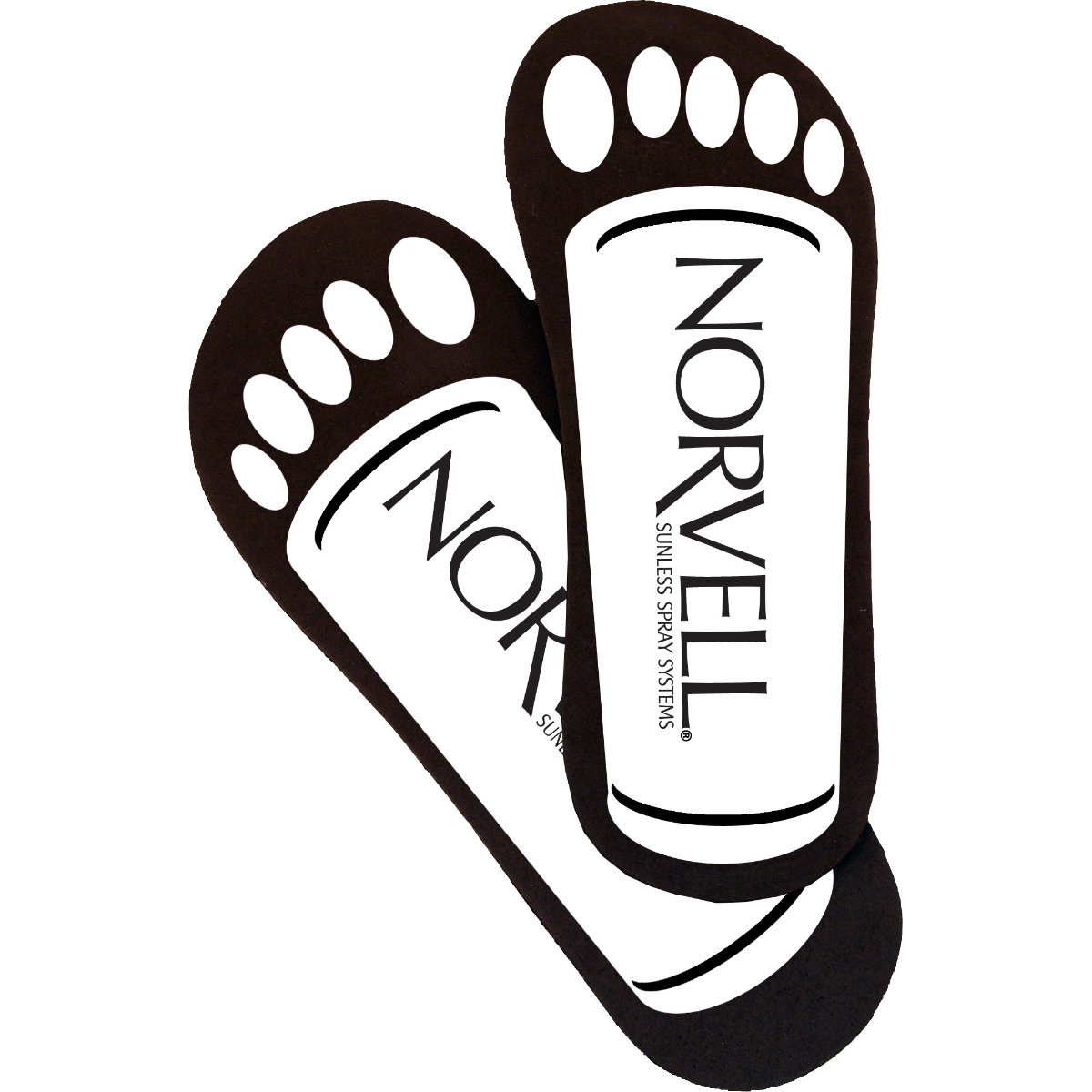 Norvell Cardboard Neat Feet Case (25 Pairs)