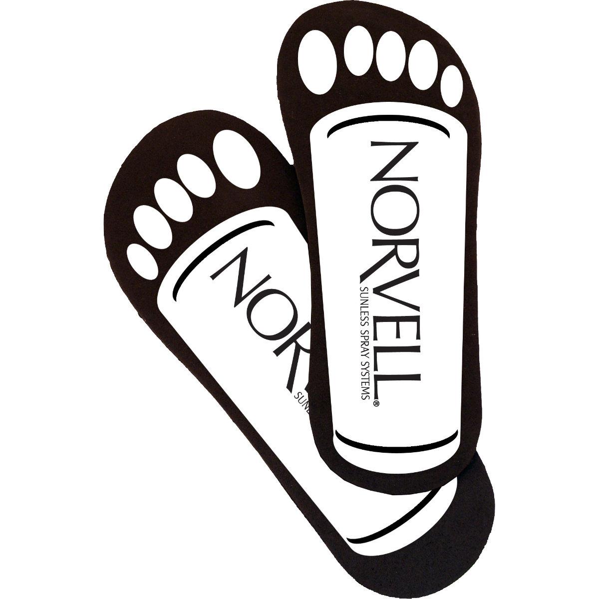 Norvell Cardboard Neat Feet Case (25 Pairs)