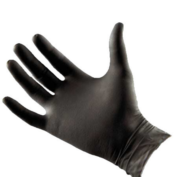 Norvell Black Laytex Free Gloves (100 Pairs)