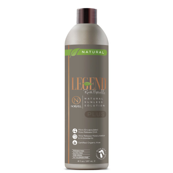 Legend™ PLUS by Rick Norvell Natural Sunless Solution 8 oz