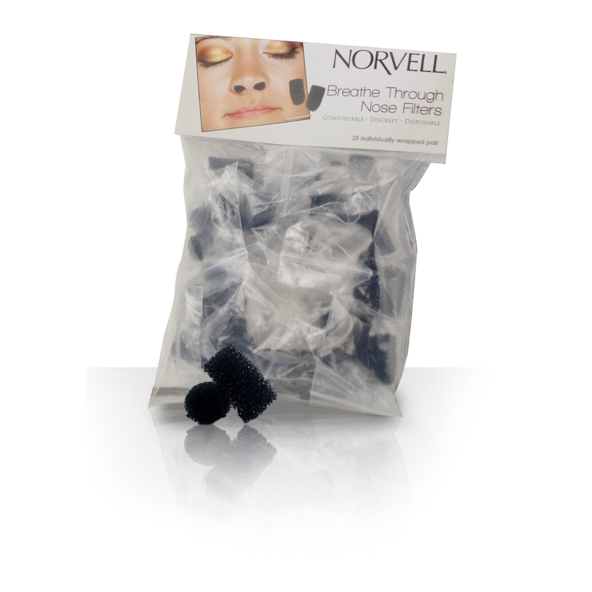 Norvell Nose Filter Case (25 Count)
