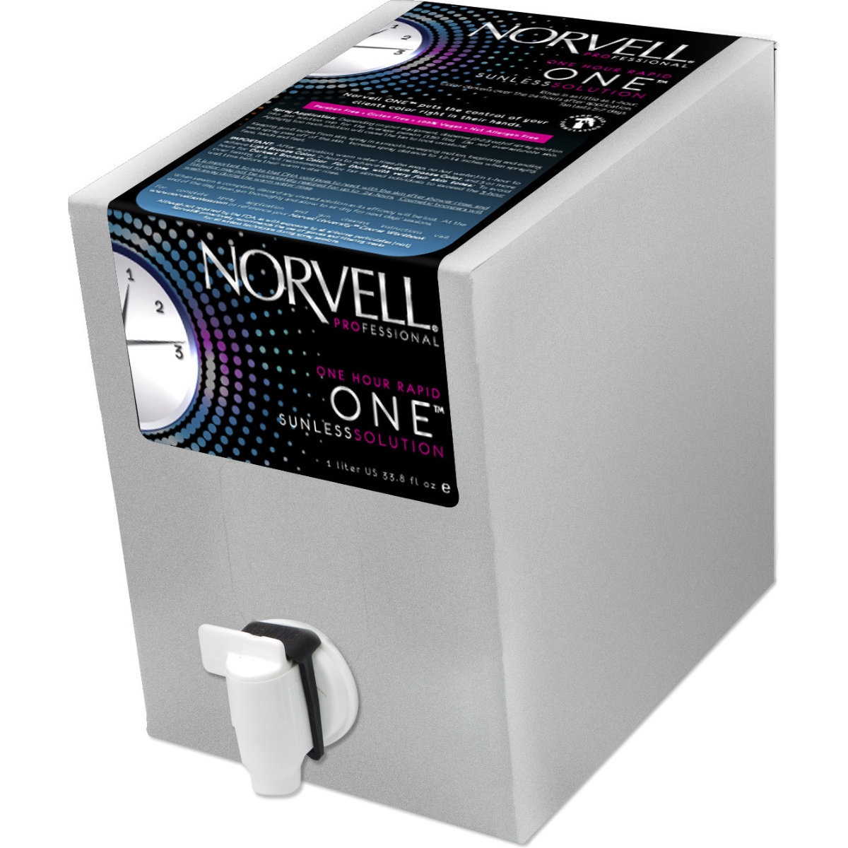Norvell ONE Rapid Sunless Handheld Solution - 34 oz.
