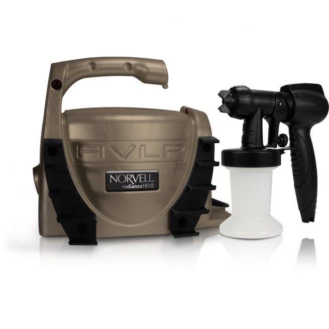 Norvell Radiance 1800 HVLP Spray System