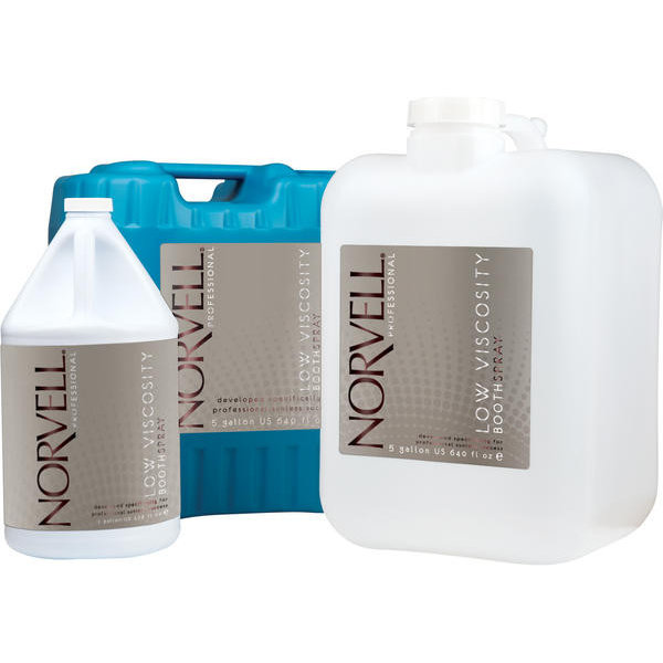 Norvell Dark Bronzing Booth Solution Clear - Natural Container
