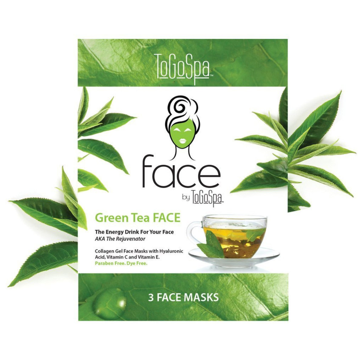 FACE by ToGoSpa Collagen Gel Face Masks