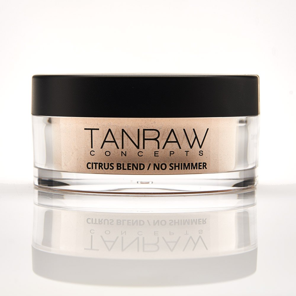 Tan Raw Concepts ODOR NEUTRALIZING BODY POWDER / NO SHIMMER CITRUS BLEND