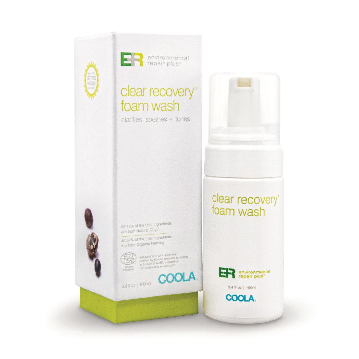 COOLA Environmental Repair Plus Clear Recovery Foam Wash