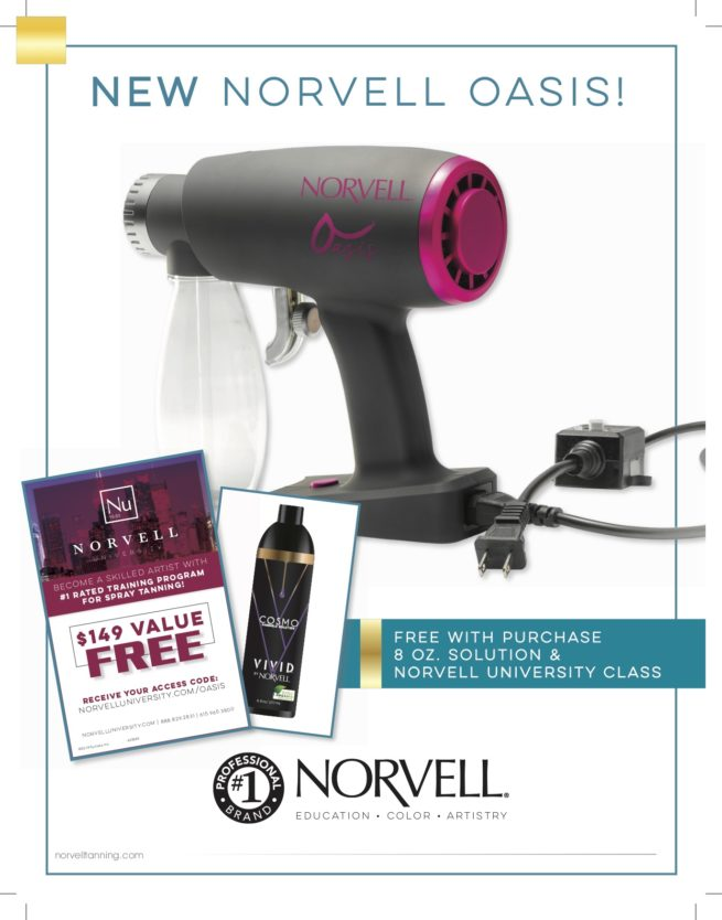 Norvell Oasis with solution and norvell university class