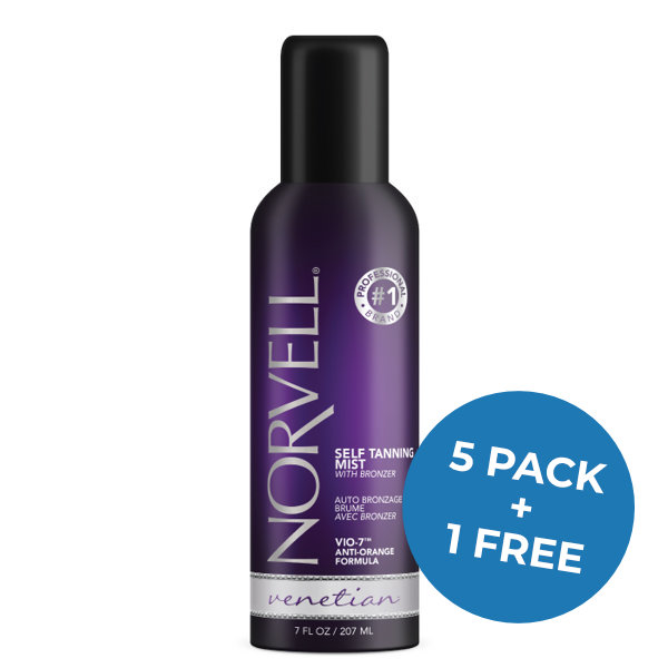 Venetian Self Tanning Mist with Bronzers 5 pack