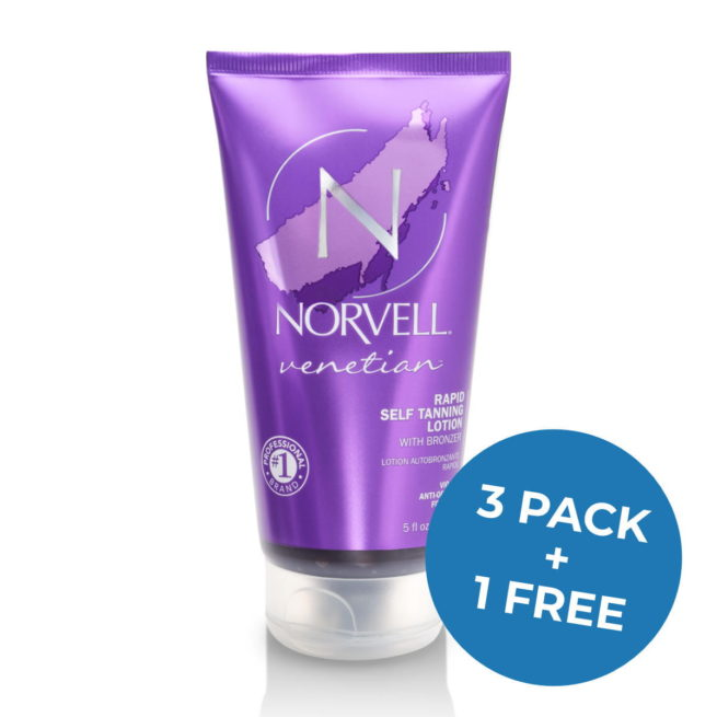 Norvell Venetian Rapid Self Tanning Lotion promo