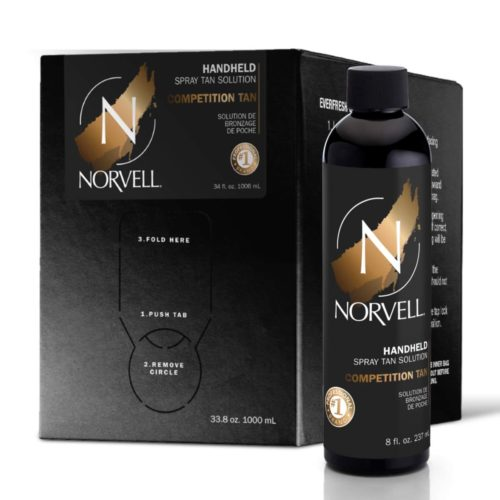 Norvell Competition Tan Handheld Spray Tan Solution